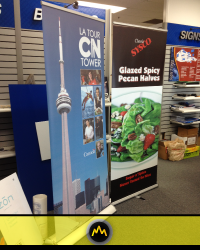 Retractable Banner Cover