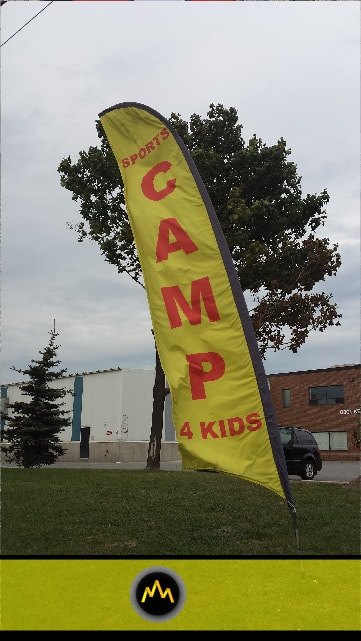Camp Feather Flag