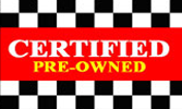 Certified Pre Owner Flag