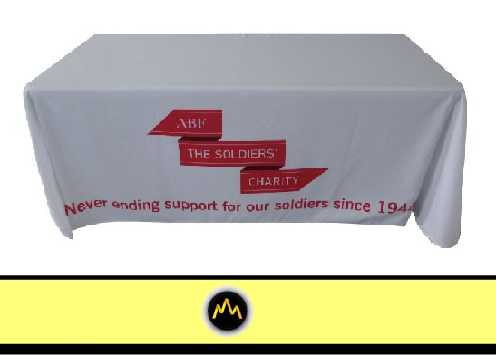 Soldiers Charity Table Cover