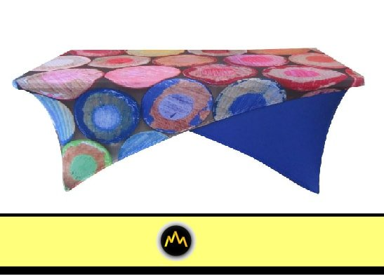 Colorful Circles Table Cover